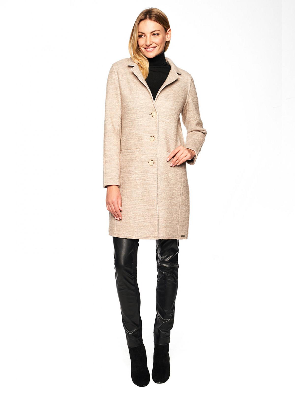 Klasyczny płaszcz z wełną Rino & Pelle FALITA.700W20
