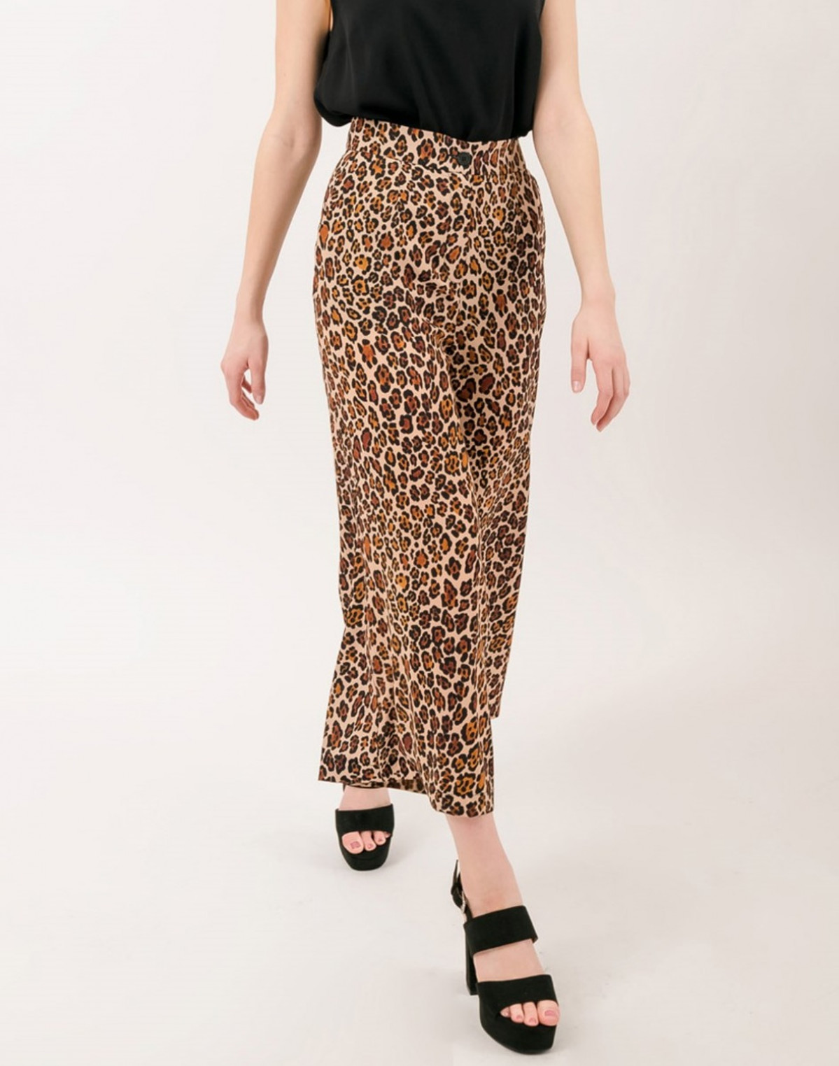 Spodnie wpanterkę Culotte