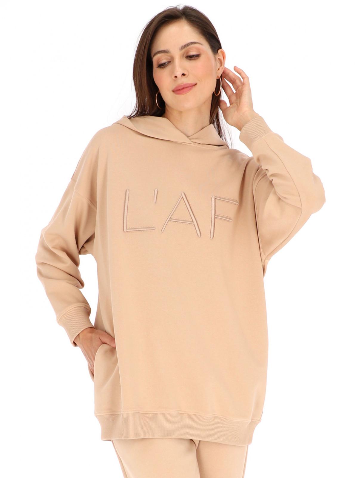 Bluza z wypukłym 3D haftem w postaci logo L'AF Dix