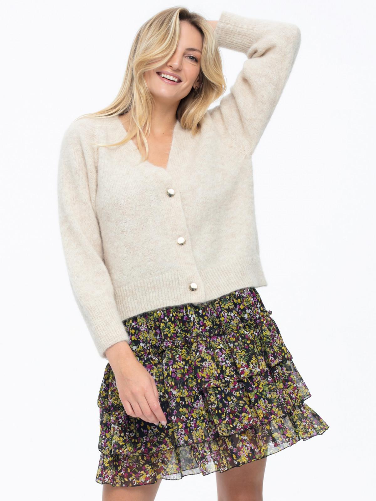 Sweter z alpaki L'AF Berry