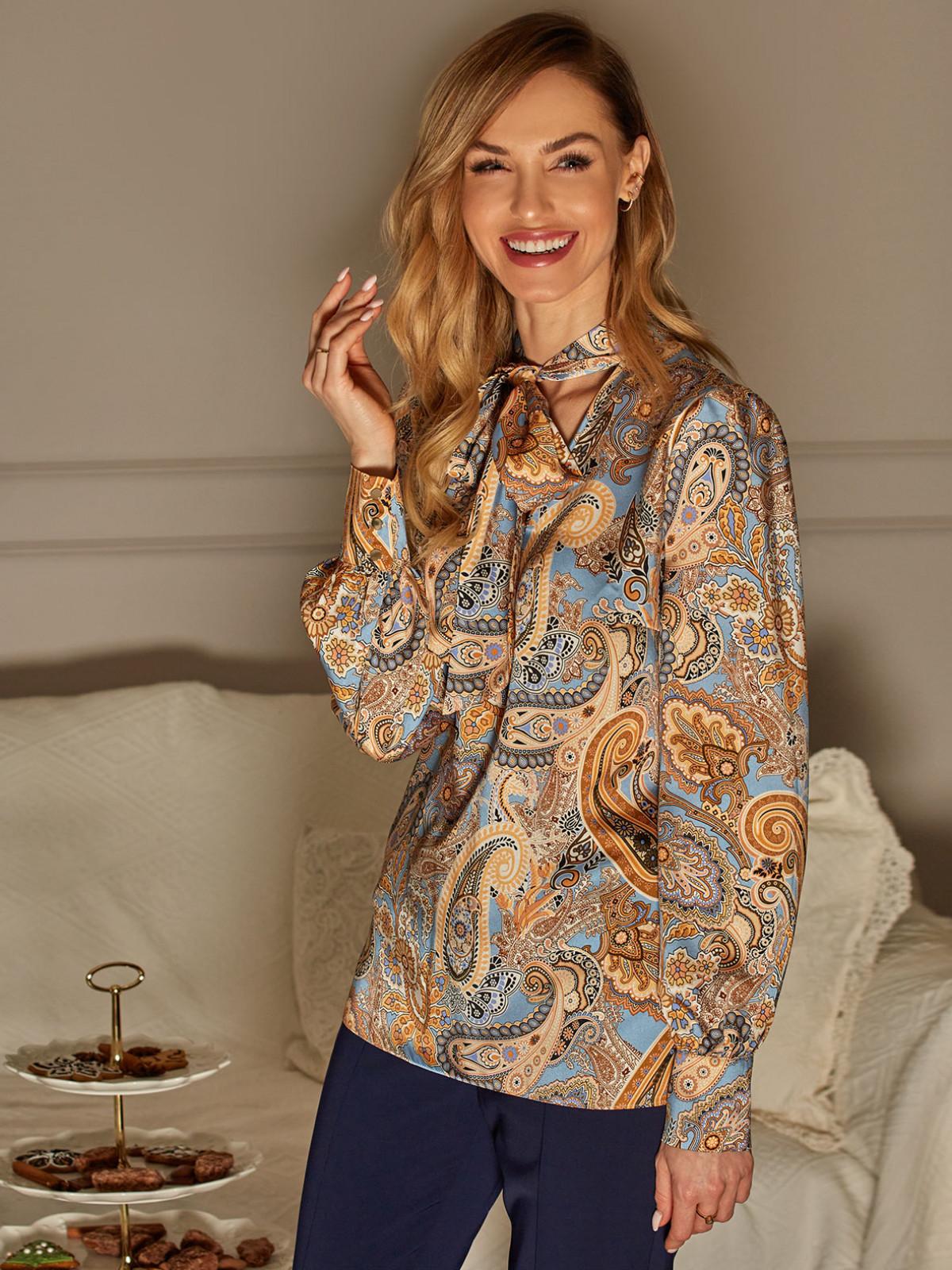Bluzka ze wzorem paisley L`AF GRANDE